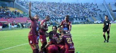 Deportes Tolima consiguió la clasificación a las semifinales de la Liga Águila I de 2018, después de superar en los cuartos de final a Once Caldas.