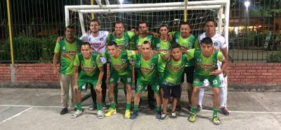 Esta es parte de la nómina del equipo Santander FSC que jugará la Copa Profesional de Microfútbol.