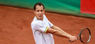 Santandereano Daniel Galán perdió en la 'qualy' del Roland Garros