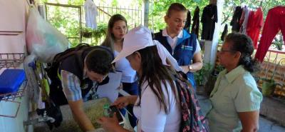 La Secretaría Local de Salud ha priorizado algunas instituciones educativas y viviendas como las ubicadas en Altos de Bellavista Globo I y II.