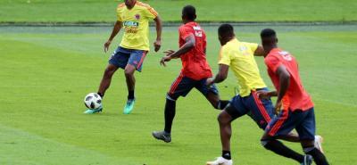 La selección Colombia trabajó ayer en el estadio El Campín de Bogotá donde hoy jugará su partido de despedida a partir de las 6:00 p.m. El equipo tricolor partirá mañana para Italia.