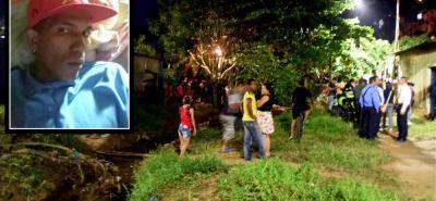 A orillas de un caño en la comuna Siete quedó tendido el cuerpo de un joven de escasos 23 años de edad, quien recibió varios disparos.