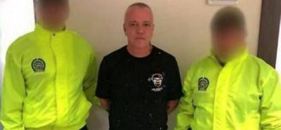 Alias 'Popeye' se presentó a las instalaciones de la Fiscalía en La Alpujarra, en Medellín cuando fue capturado.
