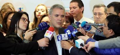 Duque denuncia posible alteración de resultados en voto en comicios colombianos en el exterior