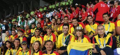 Con nueve oros, Colombia lidera Juegos Suramericanos