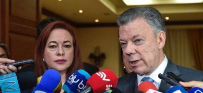 """""""La paz fue la gran ganadora de las elecciones"""": Santos"""