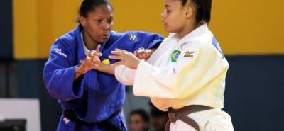 La medallista olímpica del judo, la vallecaucana Yuri Alvear, ganó con autoridad el oro en la división de los 70 kilogramos.