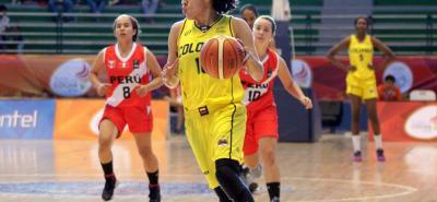 La santandereana Mabel Martínez fue vital en el título de la selección Colombia de baloncesto en los Juegos Suramericanos.
