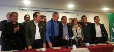 Alianza Verde adhiere a Gustavo Petro para la segunda vuelta