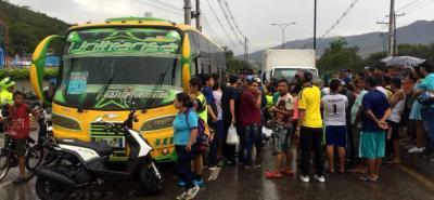 Motociclista falleció en vía a Chimitá, entre Bucaramanga y Girón