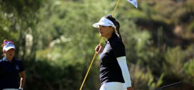 La santandereana María José uribe Durán se ubica tercera en el torneo de golf de los XI Juegos Suramericanos - Cochabamba 2018, evento que hoy tendrá su última ronda y definirá a los campeones en individual y equipos.