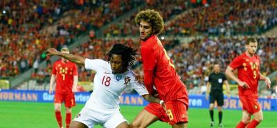 Portugal no contó con su jugador estrella, Cristiano Ronaldo.