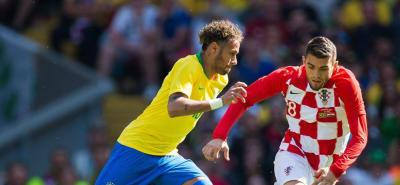 Neymar devolvió la sonrisa a Brasil, tras victoria 2-0 ante Croacia
