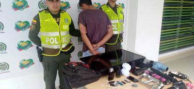 'Yeison', señalado 'apartamentero', forzó las cerraduras e ingresó a un inmueble del barrio España, en Bucaramanga.