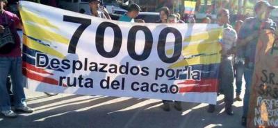 Campesinos de Lebrija exigen respuestas a Ruta del Cacao en Santander