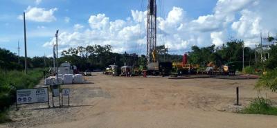 Con el apoyo de la máquina Petrowork 110, 36 trabajadores realizarán los trabajos finales para el abandono técnico del pozo Lisama 158 de Ecopetrol.