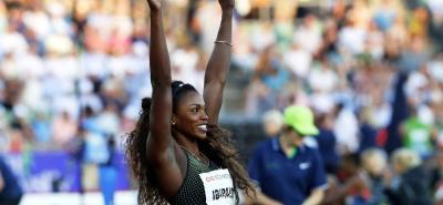 La atleta colombiana Caterine Ibargüen consiguió la victoria en el salto triple de la Liga Diamante en Noruega con una marca de 14 metros y 89 centímetros.