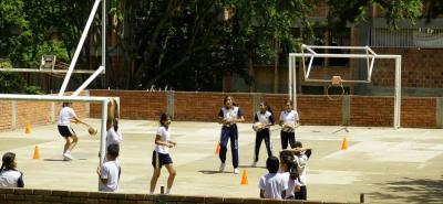 En la sede B del colegio Luis Carlos Galán Sarmiento se construirán 12 aulas, y se recuperará el polideportivo.