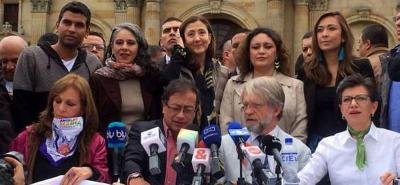 Mockus y Claudia López adhieren a  la campaña de Gustavo Petro