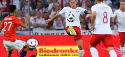 La selección polaca de fútbol igualó ayer 2-2 ante Chile, en un juego de preparación para el Mundial de Rusia, en el que fue de más a menos en su funcionamiento.