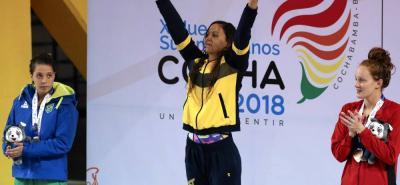 Isabella Arcila Hurtado fue la deportistas que más medallas ganó para Colombia en los Juegos Suramericanos - Cochabamba 2018, seis metales obtuvo en natación de carreras.