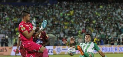 Nacional y Tolima empatan a un gol en la final fútbol colombiano