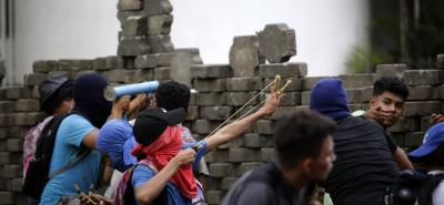 Las protestas comenzaron el pasado 18 de abril por unas fallidas reformas a la seguridad social.