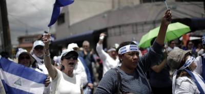 Las protestas contra el presidente Ortega se dan por unas fallidas reformas a la seguridad social.