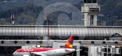 Un gran susto vivieron pasajeros de un avión que chocó contra un ave en Antioquia