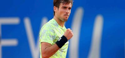 Guido Pella será el rival de Roger Federer en los cuartos de final de Stuttgart.