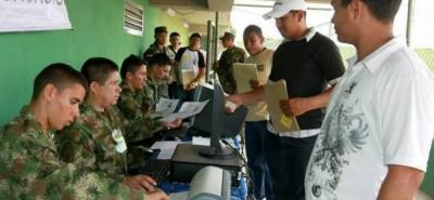 Del 19 a 22 de junio, los jóvenes que están remisos podrán aclara su situación militar.