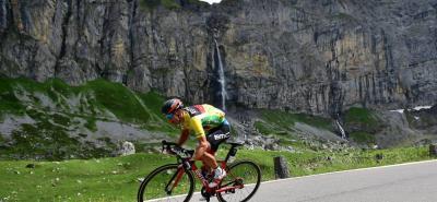 El australiano Richie Porte (BMC) se mantuvo al frente de la clasificación general en la carrera suiza.