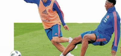 'El Tigre' Radamel Falcao García demuestra en cada entrenamiento que se está gozando la experiencia mundialista. Hace cuatro años una lesión le impidió asistir a Brasil, pero ahora en Rusia quiere brillar con la selección Colombia y quiere demostrar que está en muy buenas condiciones.