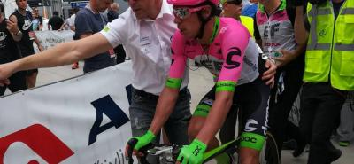 Rigoberto Urán ganó en la tercera etapa y es nuevo líder del Tour de Eslovenia