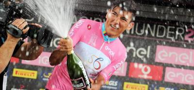 Una vez más, el colombiano Alejandro Osorio se vistió de líder del Giro de Italia sub 23, competencia que terminará hoy con dos etapas, una en línea y una contrarreloj individual.