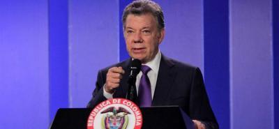 Santos pide  dar vía libre a la JEP