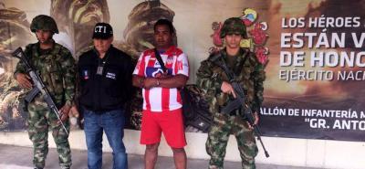 Fue detenido Leonardo Antonio Navarro Ospino, alias 'Peludo', cabecilla del Clan del Golfo en Bolívar.