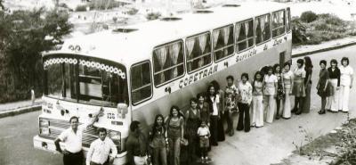 De la unión de tres pequeñas empresas de transporte en 1939 nació Copetran, empresa líder del transporte de pasajeros y carga en Santander.