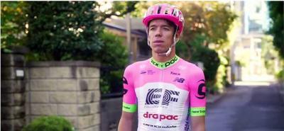 Rigoberto Urán terminó segundo en el Tour de Eslovenia
