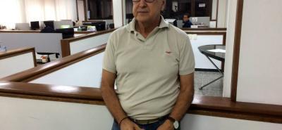 José de Jesús Suárez, técnico santandereano con buena experiencia, visitó ayer las instalaciones de Vanguardia Liberal para analizar la derrota de Colombia en el Mundial de Rusia 2018.