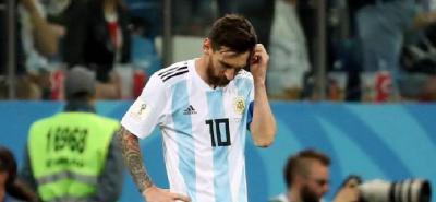 Argentina cayó 3-0 con Croacia y queda al borde de la eliminación del Mundial