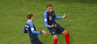 Con gol de Mbappé, Francia eliminó a Perú del Mundial