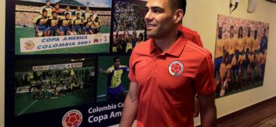 Radamel Falcao García sostuvo ayer en conferencia de prensa de que la idea de la selección Colombia es ganar como sea.