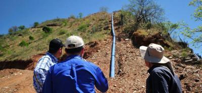 La meta es construir un acueducto que garantice el servicio de agua potable a los cerca de 13.000 habitantes y 32.000 flotantes (turistas) de la Mesa de Los Santos.