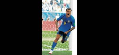 Phillipe Coutinho fue el encargado de abrir el marcador para Brasil ante una dura y complicada Costa Rica que estuvo cerca de sacarle un empate a los pentacampeones y de complicarle el camino a octavos en Rusia 2018.