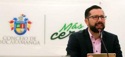 Jaime Andrés Beltrán afronta un proceso en su contra ante la Comisión de Ética del Partido Liberal, por apoyar a la Presidencia a Viviane Morales y no a Humberto de la Calle.