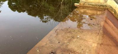 La principal fuente de abastecimiento de los lebrijenses es la represa Piedras Negras.
