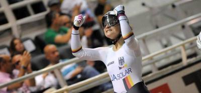 Kristina Vogel, campeona olímpica de ciclismo de pista, sufrió un grave accidente