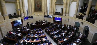 Ayer, tras la aprobación de la ley de procedimiento de la JEP, solo se esperaba su conciliación en las plenarias de Cámara y Senado.