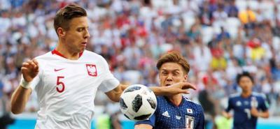 En el estadio Volgogrado Arena, Japón y Polonia se miden por la tercera fecha del grupo H.